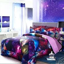 galaxy bed set full sanding space bedding set twin full queen size moon star galaxy home