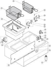 parts town wells f 67 countertop fryers parts manual f67 countertop dual head fryer cabinet components