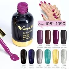 Us 16 12 38 Off 10pcs Lot Venalisa Soak Off Uv Led Nail Gel Polish 12ml Gel Lacquer Paint Nail Art Salon High Quality Starry Gel Polish Kits In Nail