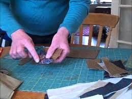 Necktie Quilt with Dresden Plate Video - YouTube &  Adamdwight.com