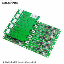 Disco Light Controller Us 125 93 34 Off 15pcs Lot Disco Light Controller Mini Pcb Module Wireless Dmx 512 Transmitter Receiver 2 In 1 Controller For Dj Stage Lighting In