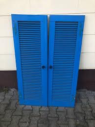 Fensterladen Paar Shabby Sehr Alt Deko Deko Deko Holz Haus Und