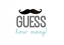 Guess The Mustache Game Printable  Google Search  Chris 1st B Free Printable Mustache Baby Shower Games