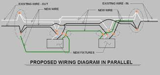 circut breaker trips everytime i turn off lights ok i ve looked at joed s last post and have come up a new wiring diagram of which i have tried to show is parallel