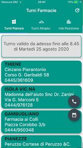 Farmacie di turno provincia di Vicenza для Андроид - скачать APK