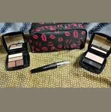 avon makeup set eye blush maa bag neutral