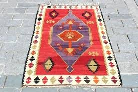 red kilim rug image 0 red and black kilim rug