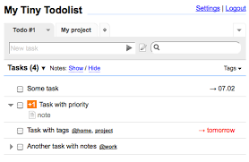simple todo mytinytodo simple open source to do list script written in php and