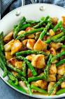 bea s oriental chicken and asparagus stir fry