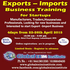 Hotel Pearls Export Import Business Training At Hotel Pearls Regency Hyderabad
