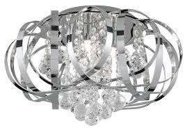 fabulous contemporary chrome ceiling lights gorgeous flush chandelier ceiling lights modern chrome ribbon