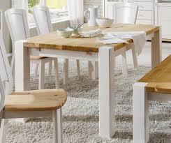 Beste Küchentisch Holz 12177 Esstisch Weiss Gelaugt Kiefer Massiv