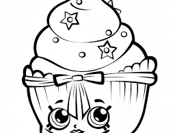 Printable Coloring Sheets Shopkins Free 4 Shopkins Coloring Pages