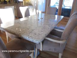 Kitchen Tables With Granite Tops Kitchen Table Granite Remodelling Val Desert Dream Granite Kitchen
