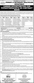 physiotherapist jobs in primary secondary healthcare department physiotherapist jobs in primary and secondary healthcare department