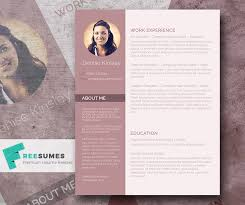 Resume Modern Ex Modern And Chic A Photo Resume Template Giveaway Freesumes