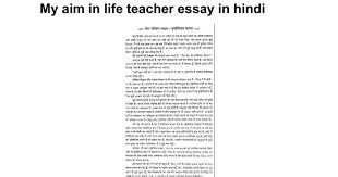 my aim in life teacher essay in hindi google docs