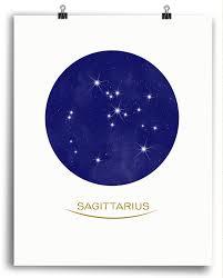 Sagittarius Stars Print Tetování Tatuajes