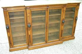 bookcases antique oak bookcase bookcases display preferred furniture warehouse library inside glazed ant