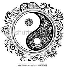 Mandala Kleurplaten Jing Jng Kruhov Podob Mandala Dekorativn Symbol
