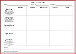 sample lesson plan for preschool lesson plans template for toddlers creative curriculum