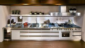 Stainless Steel Kitchen Designs Contemporary Stainless Steel Kitchen Profile Handles Avant Garde