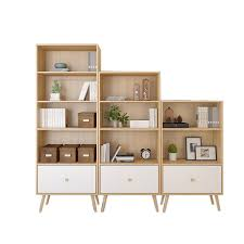 bookshelf with drawers. Delighful Drawers Bookcases Living Room Furniture Home Wood Bookshelf Drawers  Storage Rack Cabinet Book Stand Modern Minimalist In Bookshelf With Drawers