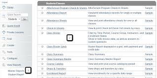 Class Roster Report Asap