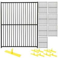 black welded wire fence. 6 Black Welded Wire Fence