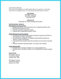 Professional Objective For Nursing Resume Icu Nurse Resume Experience Nurse Resume Gallery Of Nurse Resume 68