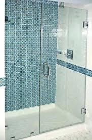 custom glass shower doors average frameless various cost