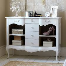 vintage looking bedroom furniture. White French Chest With Central Drawer And Shelves Vintage Looking Bedroom Furniture R