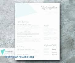 College Student Modern Resume College Student Resume Template Word Elegant High School Resume