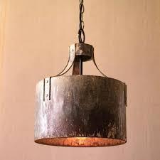 metal drum pendant light metal drum pendant chandelier a beautiful piece of accent lighting the metal