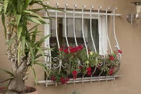 Fenstergitter Neapel Stahl Verzinkt