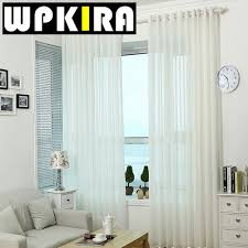 White Curtains For Living Room Popular White Draperies Buy Cheap White Draperies Lots From China