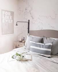 Modern Grey & White Marble Wallpaper ...