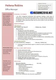 Office Manager Resume Sample Extraordinary Office Manager 60 Resume Samples In Word Resume 60