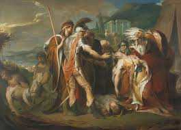lear weeping over the dead of cordelia finished in 1788 is widely known as one of the most beautiful literature inspired paintings of all time