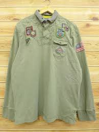 old clothes long sleeves rugby shirt 90s ralph lauren ralph lauren himalayas mountain elbow expectation big