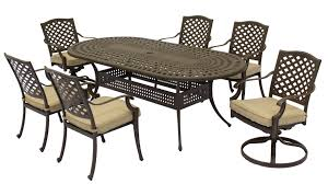 Furniture Aluminum Somerset 7PC Dining Set