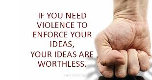 Violence Quotes Unique Say No To Violence Quotes