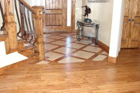 hardwood floor with tile 4