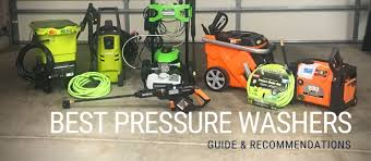 Best Electric Cordless Pressure Washers Guide
