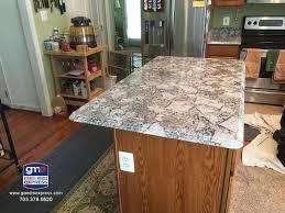bianco antico granite island top
