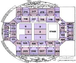 Norris Penrose Event Center Seating Chart Seating Charts Broadmoor World Arena