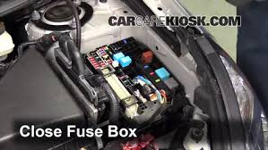 replace a fuse pontiac vibe pontiac vibe l cyl 6 replace cover secure the cover and test component