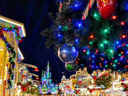 🎄 30 Disney World Holiday Wallpapers ...