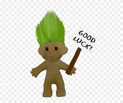Art Good Luck Troll By Priscilla Wolfe - Science Fair Project Display  Clipart (#709728) - PinClipart