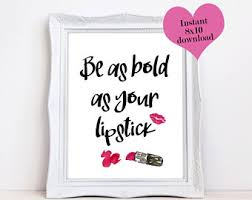 Lipstick Quotes Dreams Demand Hustle Printable Quotes Hustle Print Desk 83
